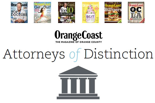 Orange Coast Attorneys of Distinction
